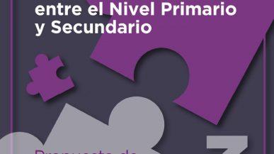Articulación entre el Nivel Primario y Secundario – 3ra Propuesta de actividades de Matemática (familia)